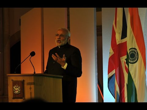 PM Modi's speech at Guildhall, London