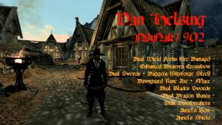 [Viewer Submission] Skyrim Character Build - Van Helsing