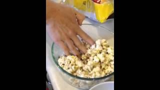 Making Caramel-Cricket Crunch