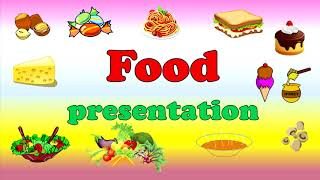 Еда. Food. Английский для детей. English for kids.