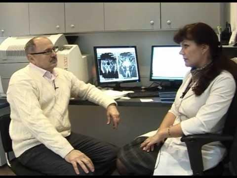 Die Arbeit bei der Osteochondrose