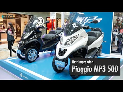First Impression Piaggio MP3 500 I OTO.Com