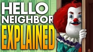 PROOF OF WHO THE NEIGHBOR IS AND WHAT'S IN HIS BASEMENT - Hello Neighbor Theory Explained