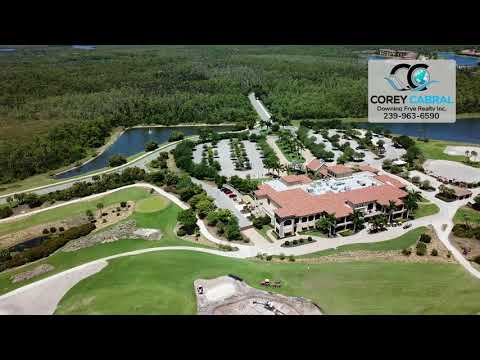 Treviso Bay Golf Clubhouse Drone Video in Naples, Florida