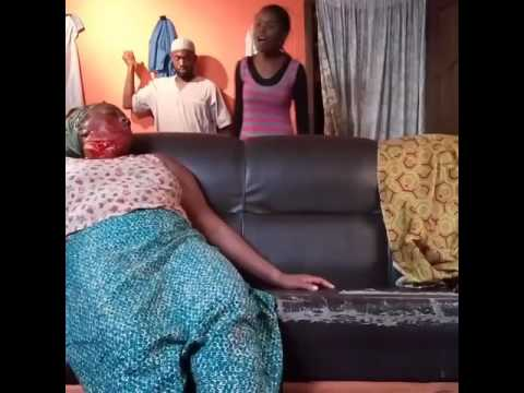 Blunders Of Nollywood!(Behind the scene shot from a film location)