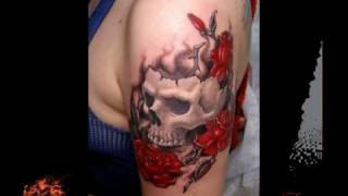Татуировки. Tattoo. Лучшие тату - Женские.