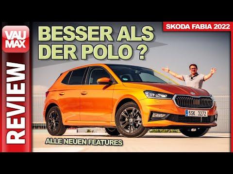 "Besser als VW Polo & Co? 2022 SKODA FABIA ""Style"" 110 PS TSI im Test"