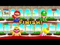Download Mario Party 9 - Mario vs Luigi vs Wario vs Peach - Minigames (Master CPU) HD Mp4 3GP Video and MP3