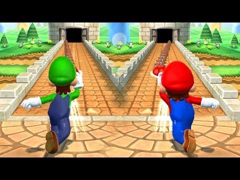 Download Mario Party 9 - Mario vs Luigi vs Wario vs Peach - Minigames (Master CPU) Mp4 HD Video and MP3