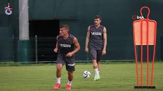 Trabzonspor, Molde FK maçı hazırlıklarını sürdürdü
