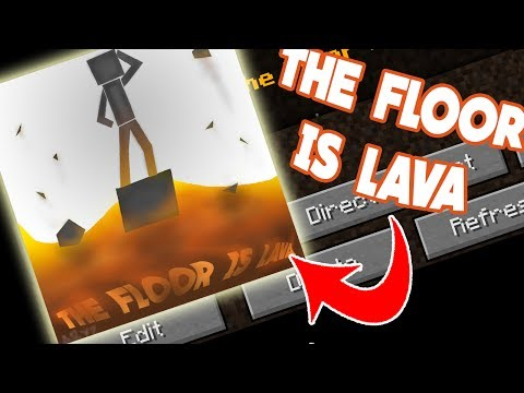 The Floor Is Lava 1 12 Pvp Minigame