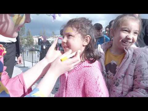 Büyükşehir'in Manavgat Çocuk Şenliği'ne yoğun ilgi
