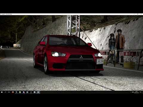 How To Play Initial D Arcade Stage 6 - 8 On PC w