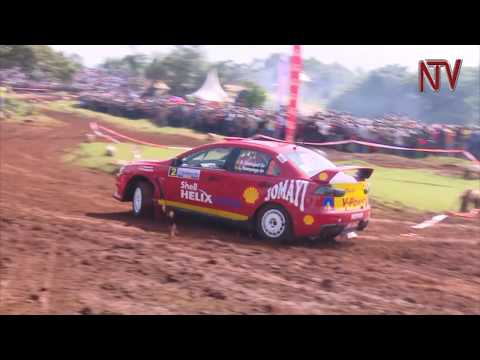 Jas Mangat takes day one of the Masaka Motor Rally