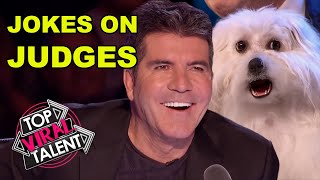 JOKE IS ON JUDGES during some FUNNY VENTRILOQUIST AUDITIONS on Got Talent