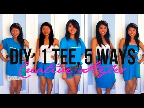 Gallery For > Diy Clothes No Sew