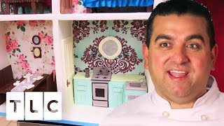 Super Detailed Life-Size Dollhouse Cake | Cake Boss