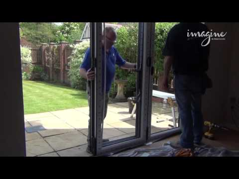 An in-depth look at the correct procedure when taking out old sliding doors and replacing them with Veka's bi-fold doors.