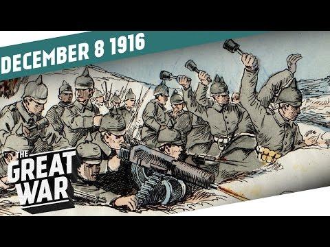 Pád Bukurešti - Velká válka