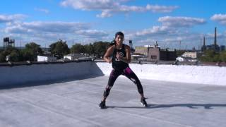 """Zumba dance routine """"Ministry Of Road"""" choreographed by Sara Moessle"""