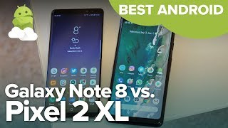 Best Android phone in 2018: Google Pixel 2 XL vs Samsung Galaxy Note8