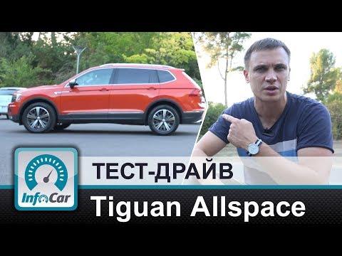 Volkswagen  Tiguan Allspace Паркетник класса J - тест-драйв 1