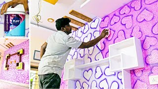 Simple wall painting ideas for interior design