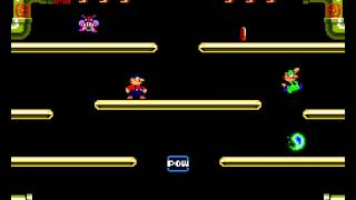 Mario Bros arcade 2 player Netplay (17 phases)