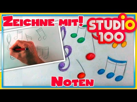 Noten - Zeichnen lernen für Anfänger - Schritt für Schritt!