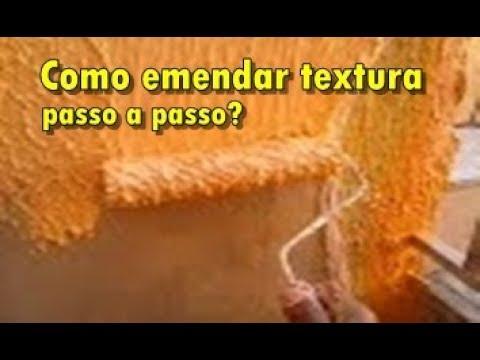 Emendar textura de rolo