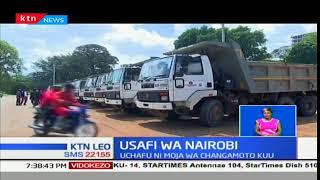 Kaunti ya Nairobi chini ya wizara ya mazingira yazindua kampeini ya usafi jijini