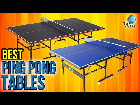 10 Best Ping Pong Tables 2017