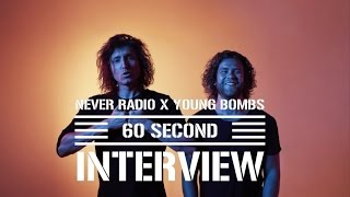 Young Bombs Interview   60 Seconds With Los Bombas