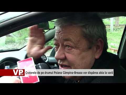 Craterele de pe drumul Poiana Câmpina-Breaza vor dispărea abia la vară