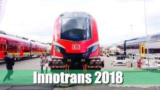 Messe Report [Doku]: Innotrans 2018   S-Bahn Berlin, MünNüX, RRX und vieles mehr