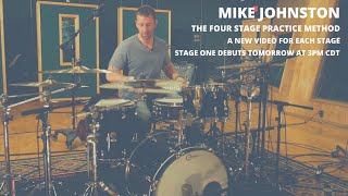 Meinl Cymbals Mike Johnston Four Stage Practice Method