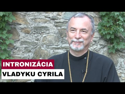 VLADYKA CYRIL VASIĽ ZASVÄTIL KOŠICKÚ EPARCHIU SV. CYRILOVI A METODOVI