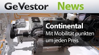 "Die Continental AG: ""Mobility is the heartbeat of life!"""