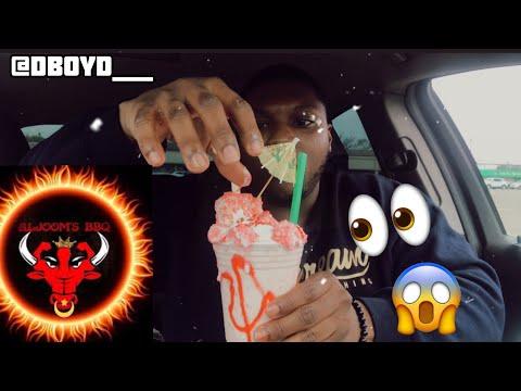 AlJoom BBQ Burger & Strawberry Shortcake Milkshake | DBoyd Taste Review