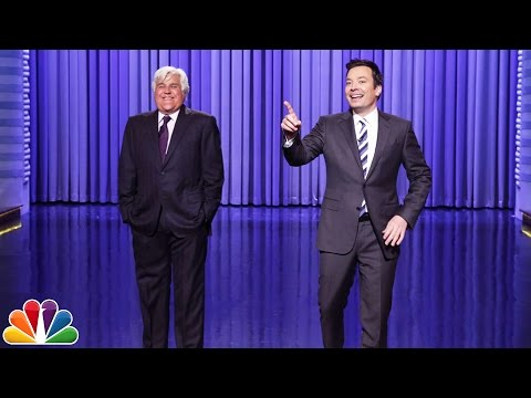 Jay Leno Tags In to Help Jimmy Tell Some Monologue Jokes in Orlando
