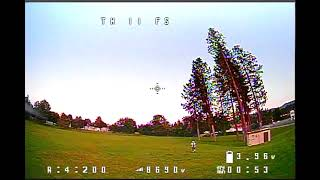 1st flight FPV quad EMAX Tinyhawk Freestyle II