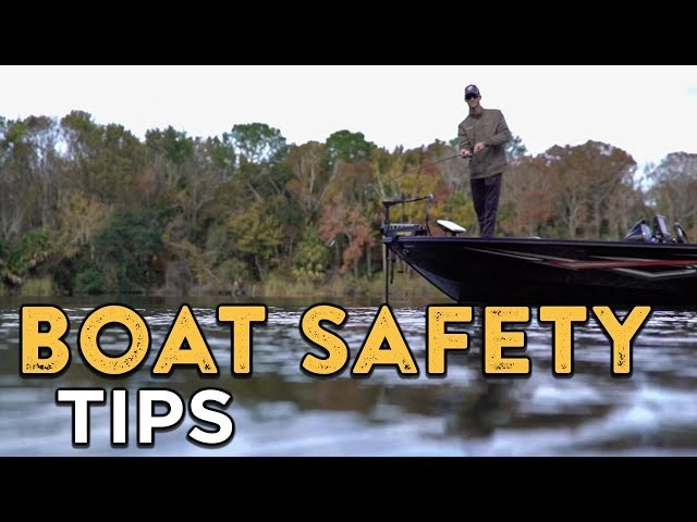 Boating Safety 101   Stay Safe On The Water With These Basic Rules