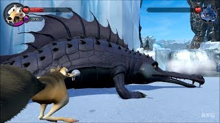 Ice Age Scrat's Nutty Adventure - Cretaceous and Maelstrom - Boss Fight | Gameplay HD