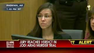 Watch Jodi Arias' reaction as guilty verdict is read