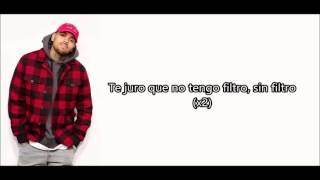 Chris Brown - No filter español