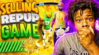 I SOLD My TOXIC Friends REP UP GAME & HE RAGED QUIT (GONE WRONG) NBA 2K21