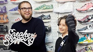 Jonah Hill And Sunny Suljic Go Sneaker Shopping With Complex