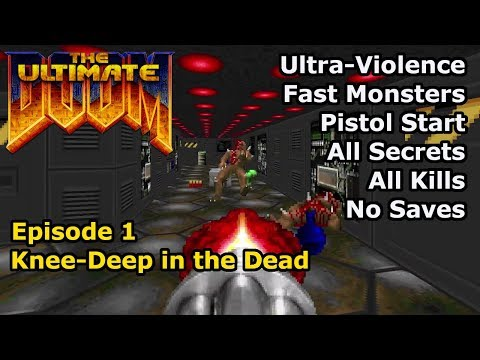 Download Doom Walkthrough 100 Secrets Part 1 Knee Deep In The Dead