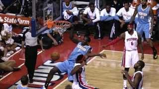 Dunk Mix: Nuggets Vs. Pistons