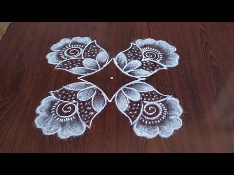 beautiful kolam design for everyday by sresta